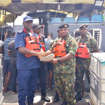 Navy arrests 7 alleged impostors escorting oil vessel in Rivers