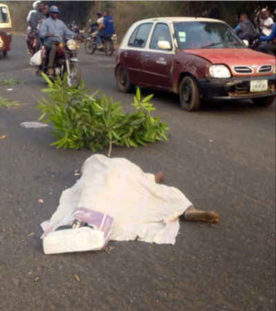 Truck kills woman on commercial motorcycle in Ogun