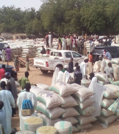 Customs impounds fuel tanker loaded with smuggled foreign rice in Kano