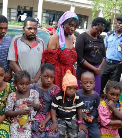 Police Arrest Husband And Wife For Kidnapping, Trafficking Nine Children From Kano To Onitsha