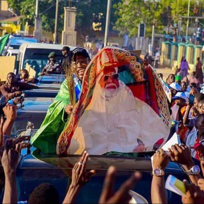 Anger In Kano As Emir Sanusi Sacks Palace Chief For Celebrating Ganduje