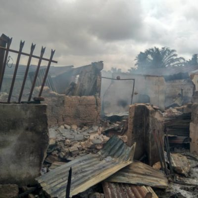 Midnight Inferno: Tragedy, As Man Slumps, Dies After Seeing Burnt Store