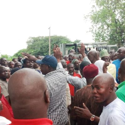Aggrieved Local Govt Workers Held Chairman Hostage For 3 Hours Despite Swift Intervention by Soldiers