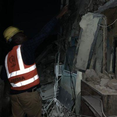 2-storey building collapse in Ojuelegba, Lagos