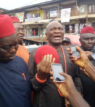 Nwodo calls for urgent action to quench Ochanja, Onitsha market fire