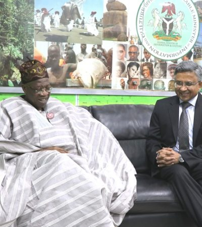 FG Seeks India's Support For Nigeria's Film Industry