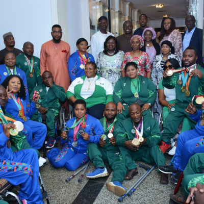 Mrs. Buhari unveils 2020 World Para Power-Lifting World Cup