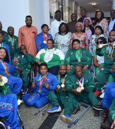 Mrs. Buhari unveils 2020 World Para Power-Lifting World Cup