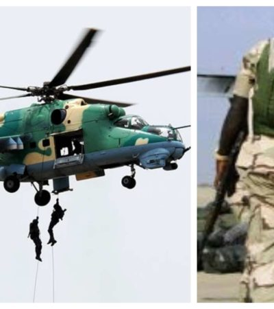 NAF destroys another insurgents hideout at Kirta Wulgo in Borno