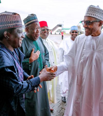 Buhari Congratulates Ganduje, Lalong On Election Tribunal Victories