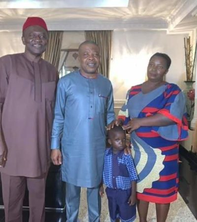Ihedioha Adopts Pupil As Family Member
