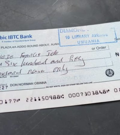 Don't Involve Senator Orji In The N650, 000 Debt You Owe Me, Bizman Tells Journalist