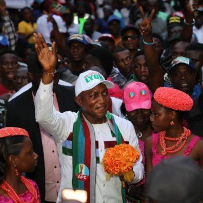 Bayelsa 2019: Kolga Abandons Son, Endorses APC Candidate