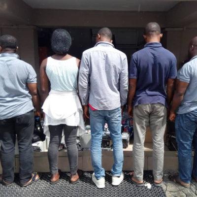 EFCC Arrests Five Suspected Fake Satellite TV Operators