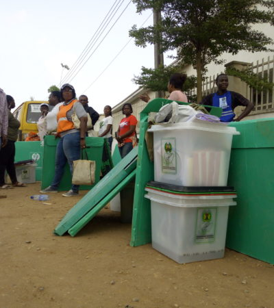 Polling units open early in Yenagoa amid tight security, situation calm in Sagbama LGA