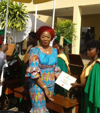 Mrs Suswam's Foundation Graduates Young Widows, Youths On Skills Acquisition