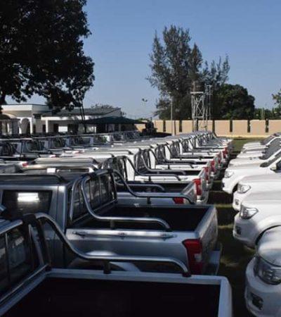 Kaduna govt. gives 85 vehicles to security agencies