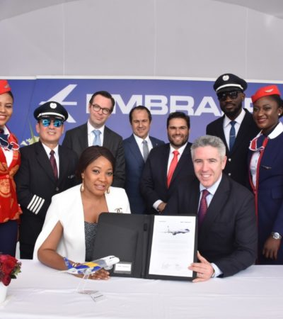 Air Peace signs firm order for 3 additional E195-E2 jets, worth $212.6m