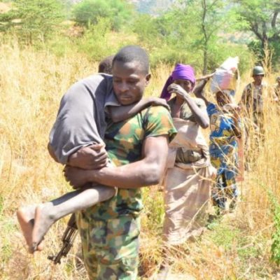 Army troops rescue octogenarian, others from Boko Haram in Borno