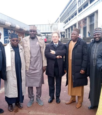 Ganduje in France, Strengthenes Partnership With French Universities For Education Development