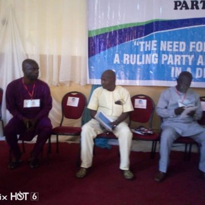 Efe to Delta Political Parties, Synergy Best Democratic Processes for Sustainable development