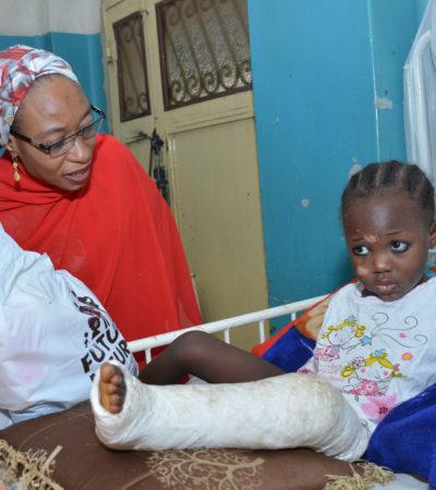 Aisha Buhari's Mercy Mission visits Kano hospitals
