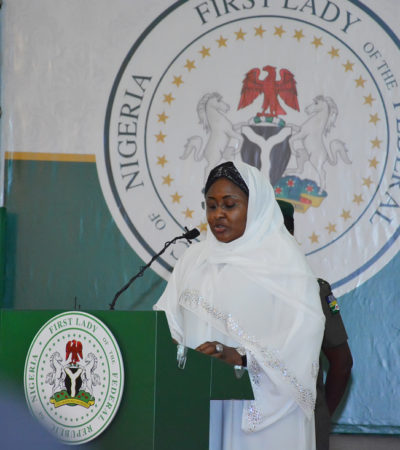 Aisha Buhari Hosts Prayer Session for the Nation