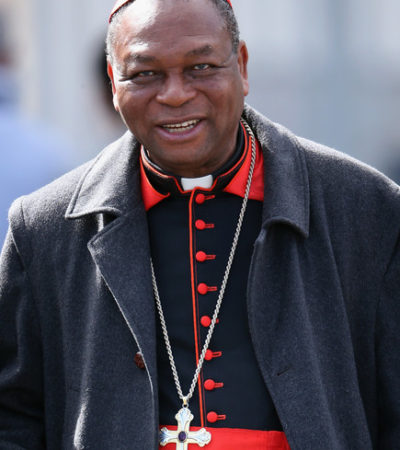 Pope Francis officially announces the retirement of Cardinal Onaiyekan