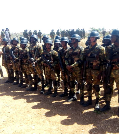 NAF trains 3,629 personnel to meet Nigeria's dynamic security challenges