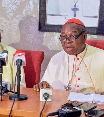 Onaiyekan bows out as Abuja Catholic Archbishop, hands over to Kaigama